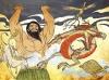 Пангу разделя небето от земята - китайски мит за сътворението на света