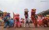 """Международно състезание по """"Лъвски танци"""" в Нанин, Южен Китай"""