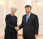 Китайският президент се срещна с шефа на МВФ