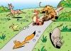 Китайски поучителни истории: Лисицата е страшна, защото тигърът е с нея